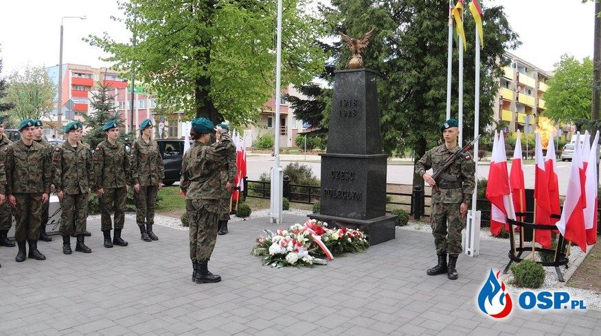 Obchody 74 rocznicy zakończenia II wojny światowej. OSP Ochotnicza Straż Pożarna