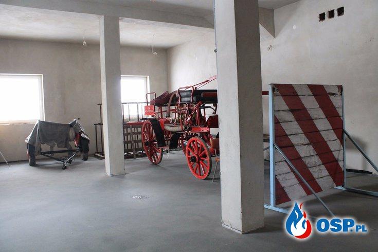 Z wizytą na budowie... OSP Ochotnicza Straż Pożarna