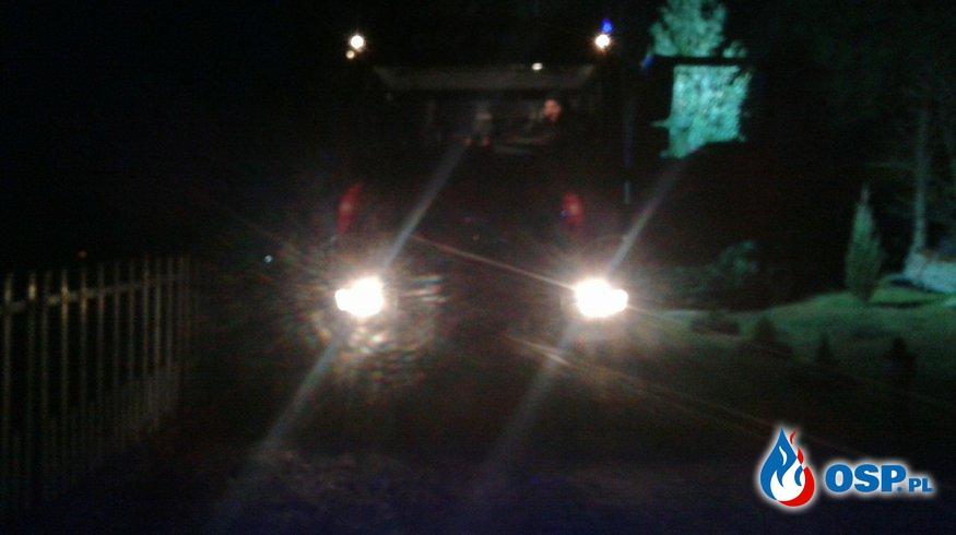 Pożar budynku mieszkalnego w Olkowicach  OSP Ochotnicza Straż Pożarna