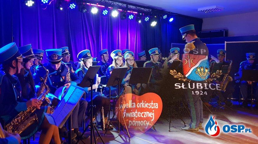 Orkiestra zagrała dla Orkiestry OSP Ochotnicza Straż Pożarna