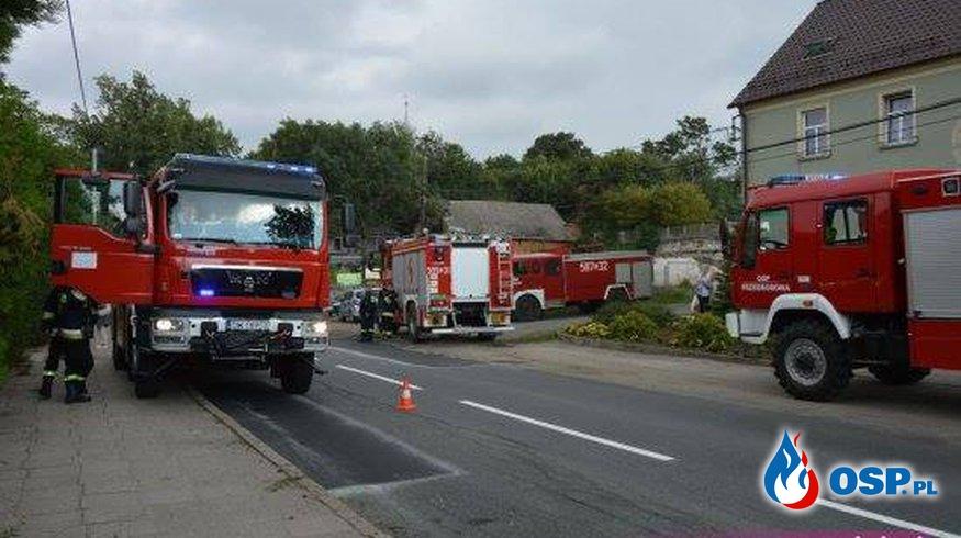 Katastrofa budowlana!!! OSP Ochotnicza Straż Pożarna
