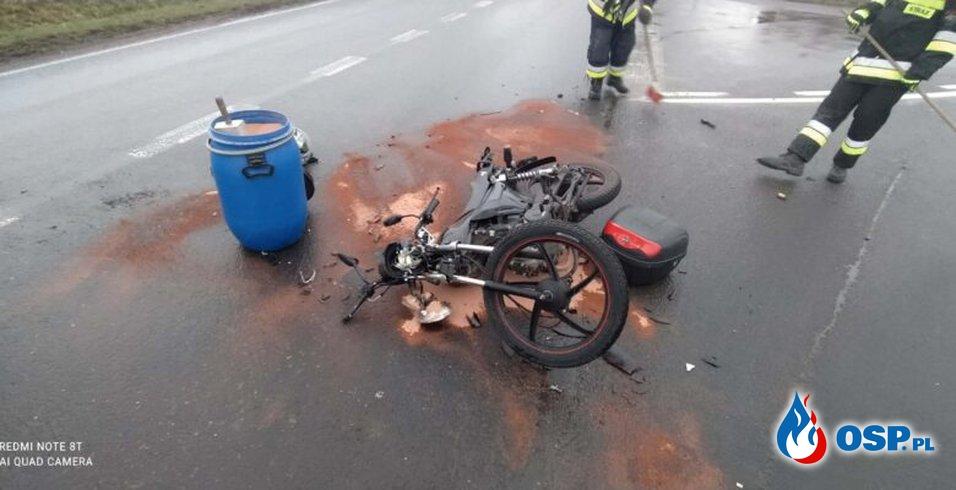Stare Miasto – wypadek drogowy OSP Ochotnicza Straż Pożarna