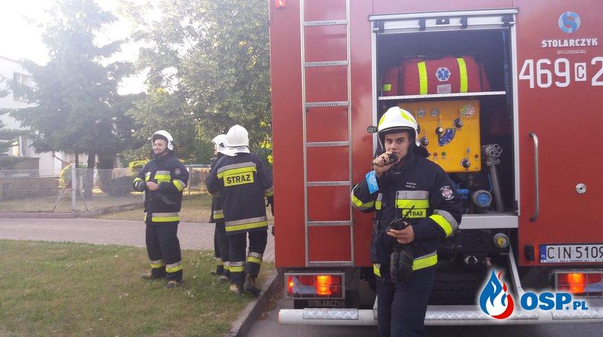 11.06.18 19:50 - POMOC POLICJI W OTWARCIU MIESZKANIA, JANIKOWO - ul. Klonowa OSP Ochotnicza Straż Pożarna