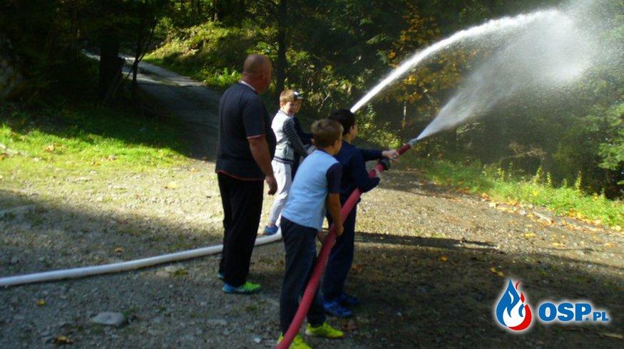 Ćwiczenia MDP chłopców OSP Ochotnicza Straż Pożarna
