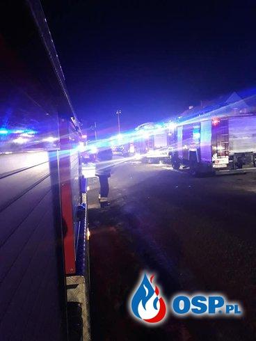 Po wybuchu gazu podczas akcji gaśniczej. Nowe informacje! OSP Ochotnicza Straż Pożarna
