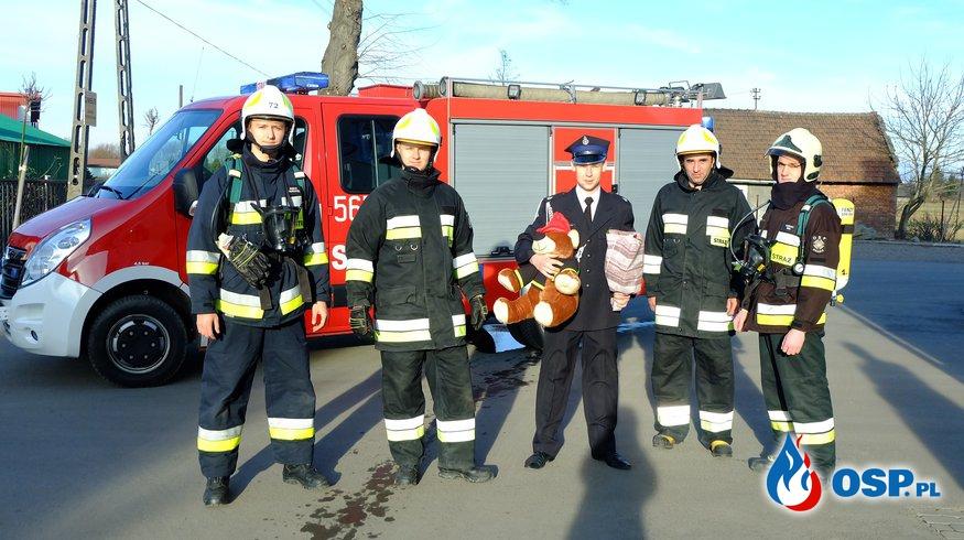 Brama weselna w wykonaniu naszych strażaków :) OSP Ochotnicza Straż Pożarna
