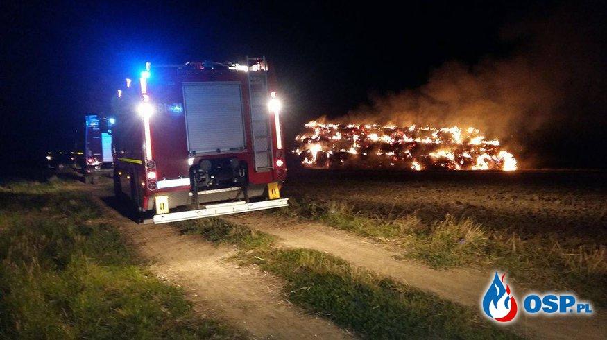 #23 Pożar sterty słomy OSP Ochotnicza Straż Pożarna
