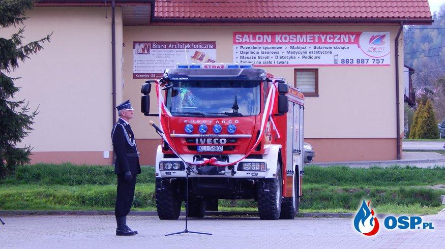 POŚWIĘCENIE SAMOCHODU OSP Ochotnicza Straż Pożarna