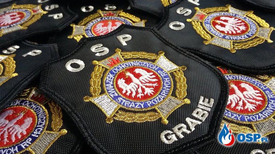 Wsparcie naszej jednostki przez firmę Haft Projekt OSP Ochotnicza Straż Pożarna