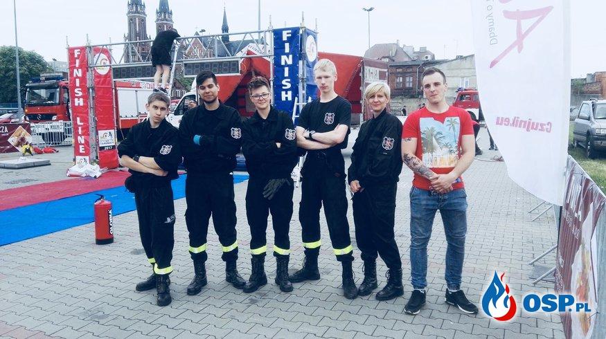Zawody Firefighter Combat Challenge 2018 Pabianice  OSP Ochotnicza Straż Pożarna