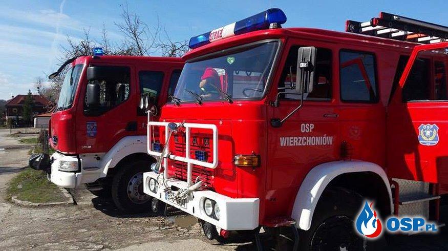 Ćwiczeniach na obiekcie Pensjonat Kazimierski OSP Ochotnicza Straż Pożarna