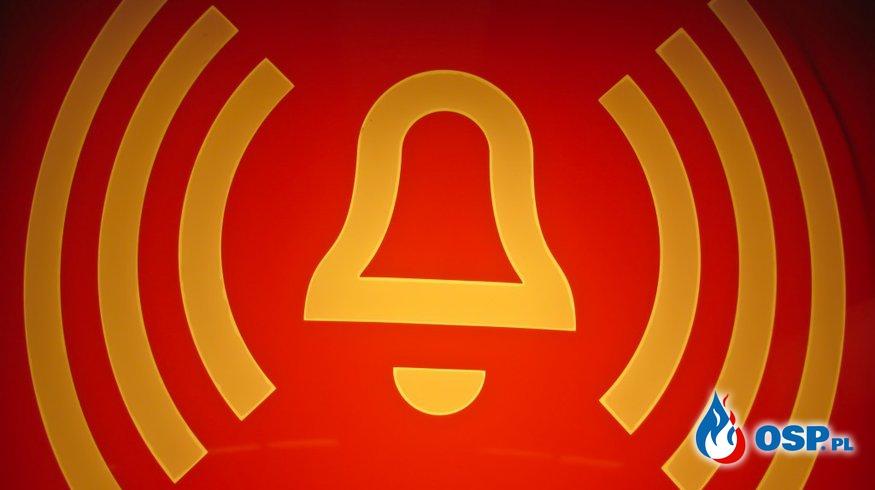 Zalana piwnica OSP Ochotnicza Straż Pożarna