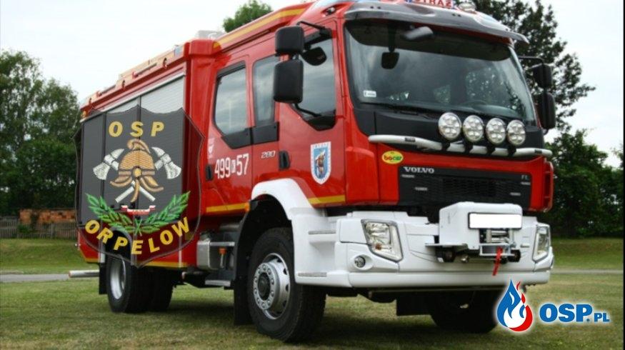 Nowy samochód dla Osp Orpelów - tak niewiele brakuje! OSP Ochotnicza Straż Pożarna