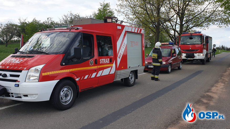 Plama ropopochodna. OSP Ochotnicza Straż Pożarna