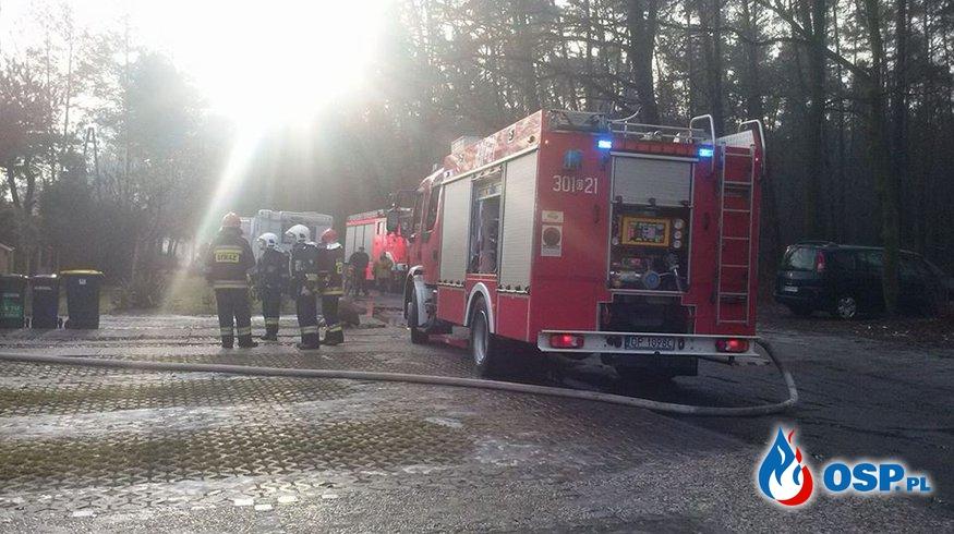 [3/2016] Pożar dachu budynku jednorodzinnego OSP Ochotnicza Straż Pożarna