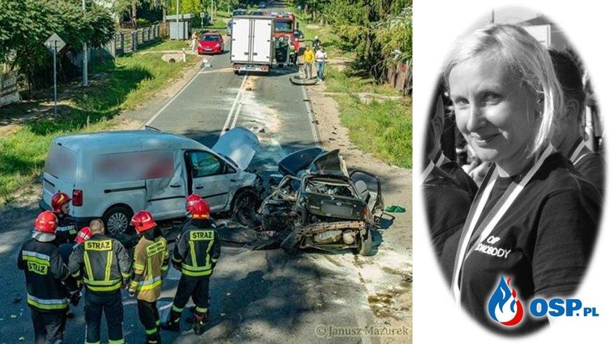 Druhna z OSP Mokobody zginęła w tragicznym wypadku na Mazowszu. OSP Ochotnicza Straż Pożarna