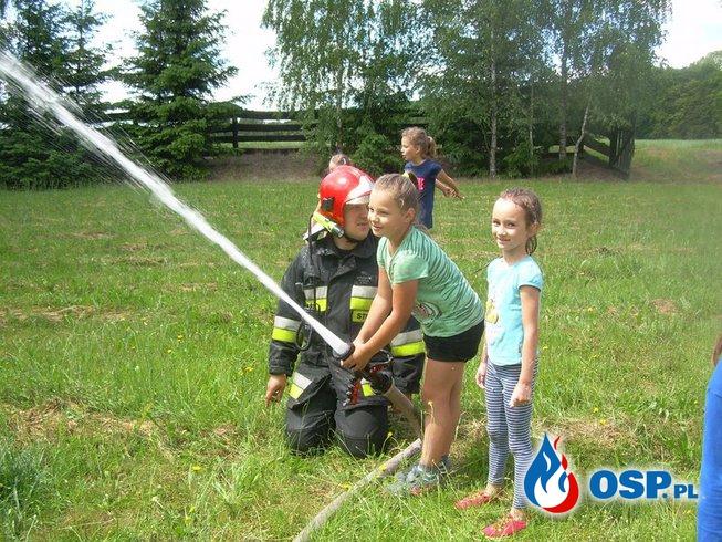 Strażacy dla najmłodszych OSP Ochotnicza Straż Pożarna