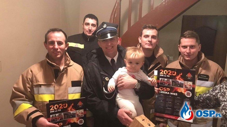 Strażackie Kolędowanie w Czeskiej Wsi OSP Ochotnicza Straż Pożarna