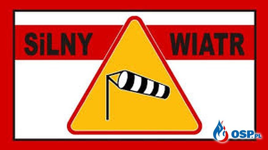 Alert RCB dla Podkarpacia. Wiatr może powiać nawet do 115 km/h. Ostrzeżenie wydało też IMGW OSP Ochotnicza Straż Pożarna