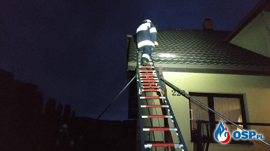 Usuwanie skutków orkanu Sabina OSP Ochotnicza Straż Pożarna