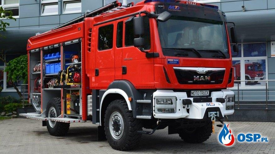 Umowa podpisana na dostawę średniego samochodu ratowniczo - gaśniczego. OSP Ochotnicza Straż Pożarna