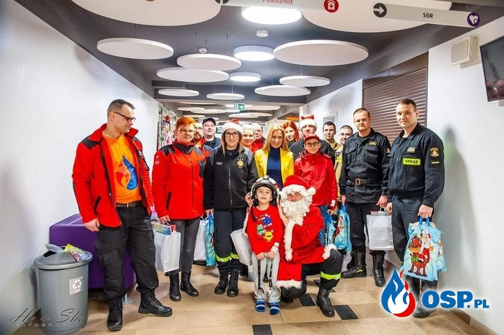 """""""Paczka dla Dzieciaka na Święta od Strażaka"""" OSP Ochotnicza Straż Pożarna"""