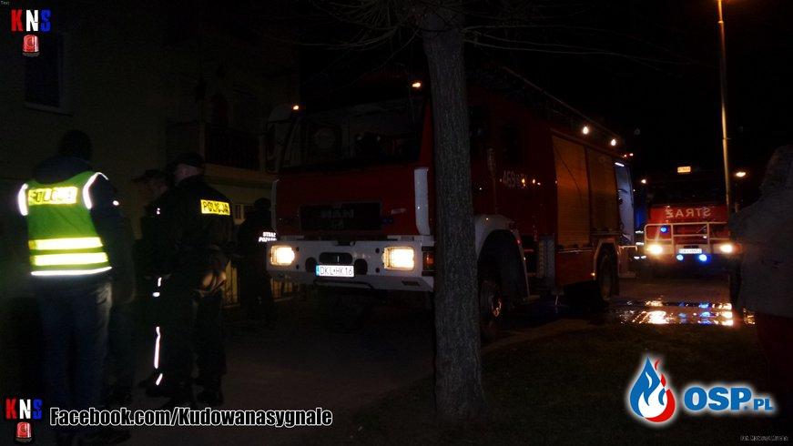 Pożar mieszkania w Kudowie Zdrój OSP Ochotnicza Straż Pożarna