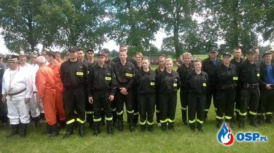 Międzynarodowe zawody sikawek konnych w Bieńkowicach OSP Ochotnicza Straż Pożarna