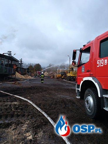 Ćwiczenia zgrywające OSP Ochotnicza Straż Pożarna