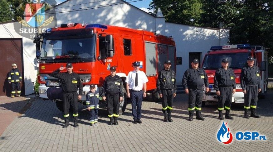 Upamiętnienie wybuchu Powstania Warszawskiego OSP Ochotnicza Straż Pożarna