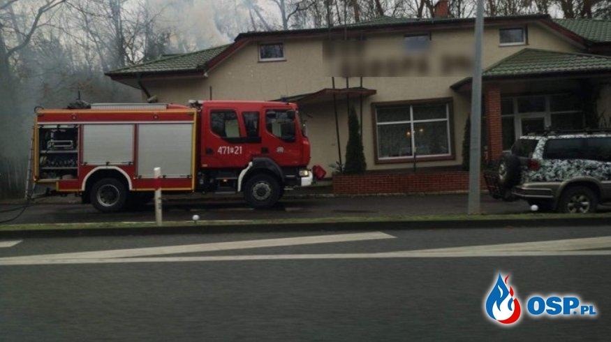 Pożar sadzy w Kościelcu OSP Ochotnicza Straż Pożarna