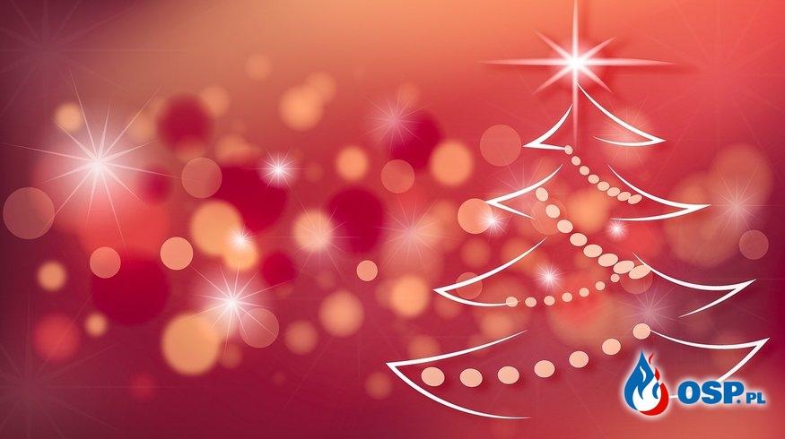 Strażackie Życzenia Świąteczne :-) OSP Ochotnicza Straż Pożarna