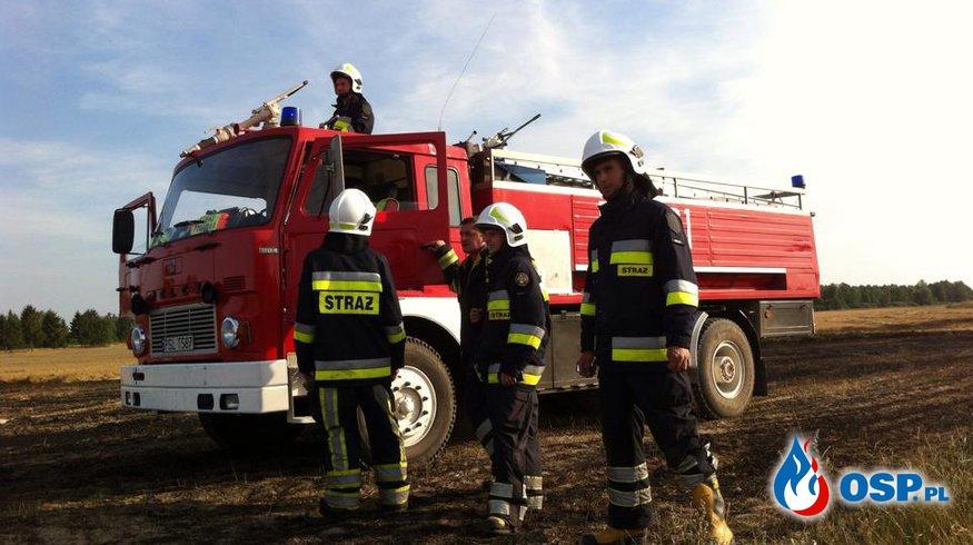 Sierpniowe pożary OSP Ochotnicza Straż Pożarna