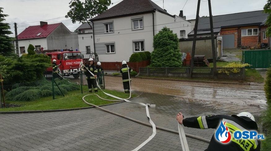 Nawałnica nad Borucinem OSP Ochotnicza Straż Pożarna