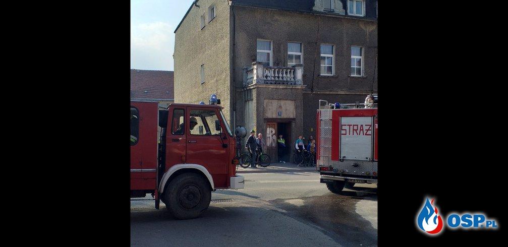 Pożar Dworca W Lubawce OSP Ochotnicza Straż Pożarna