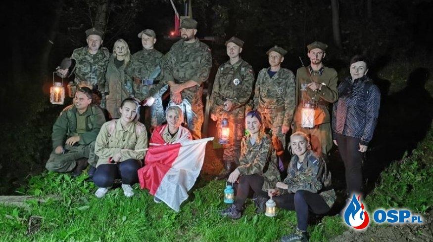 Druhowie wzięli udział w Nocnym Rajdzie Śladami Oddziału AK OP-11 OSP Ochotnicza Straż Pożarna