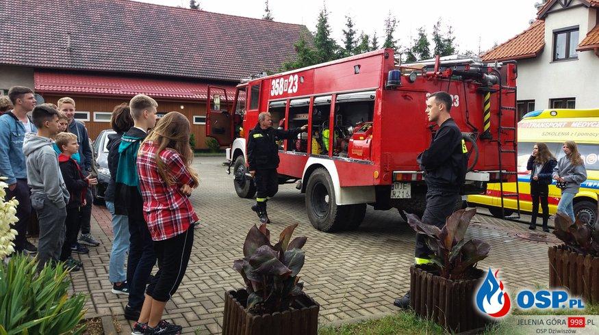 Jelenia Góra: Bezpieczne Wakacje razem z OSP Dziwiszów. OSP Ochotnicza Straż Pożarna