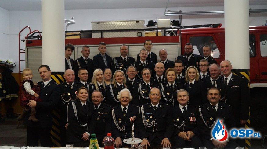 Spotkanie opłatkowe 16.12.2017r. OSP Ochotnicza Straż Pożarna