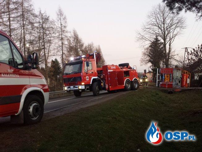 Pechowy wyjazd…  23 grudnia 2015 OSP Ochotnicza Straż Pożarna