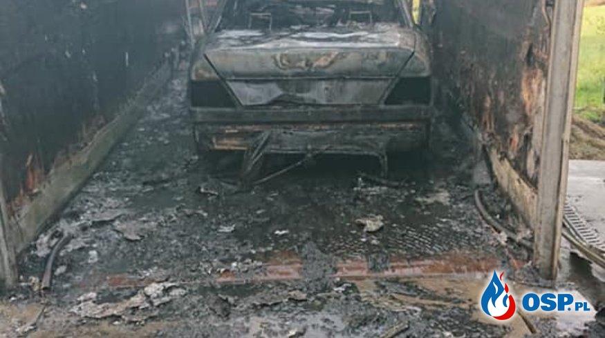 ALARM 27/2020 Pożar OSP Ochotnicza Straż Pożarna