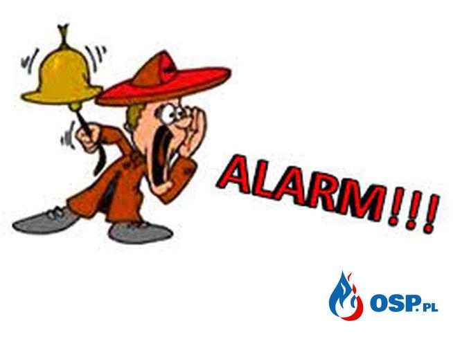 Alarm 13.10.2015 godzina 22:01 OSP Ochotnicza Straż Pożarna