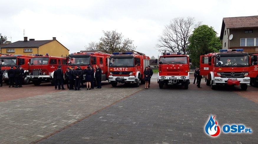 Pielgrzymka strażacka do Leśniowa - powiatowy dzień strażaka OSP Ochotnicza Straż Pożarna