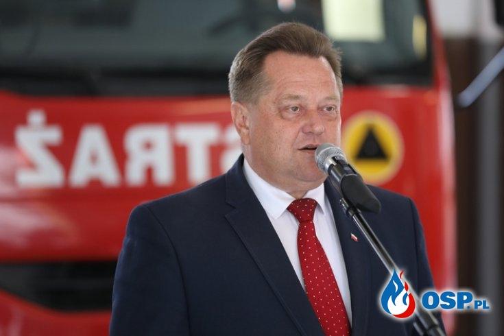 Wiceminister MSWiA J. Zieliński napisał list do strażaków OSP OSP Ochotnicza Straż Pożarna