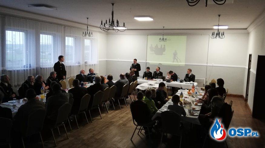 Zebranie Sprawozdawcze za rok 2018 OSP Ochotnicza Straż Pożarna