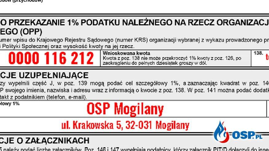 1% Podatku OSP Ochotnicza Straż Pożarna