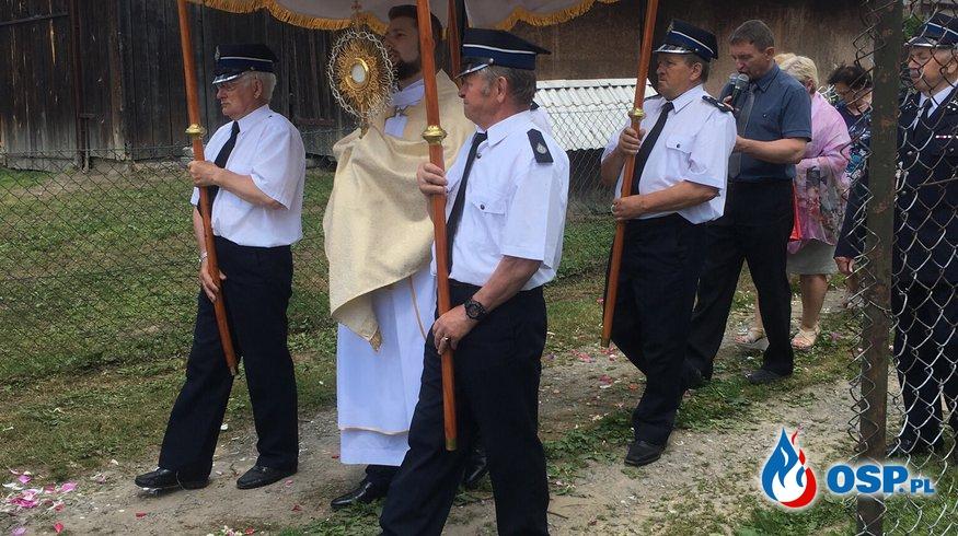 Obchody dnia Bożego Ciała OSP Ochotnicza Straż Pożarna