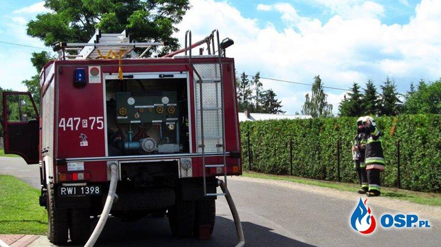 Międzypowiatowe Ćwiczenia-Las w Dobrucowej OSP Ochotnicza Straż Pożarna
