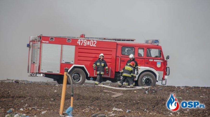 Wyjazd nr 10/2018 - Pożar OSP Ochotnicza Straż Pożarna