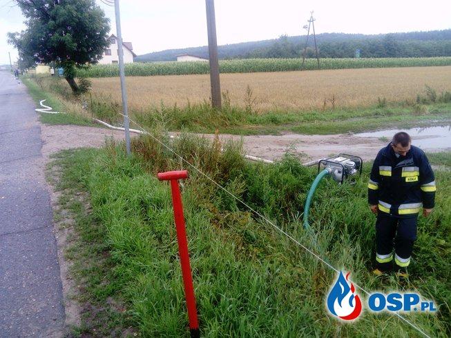 Podtopienia w Daniszewie OSP Ochotnicza Straż Pożarna