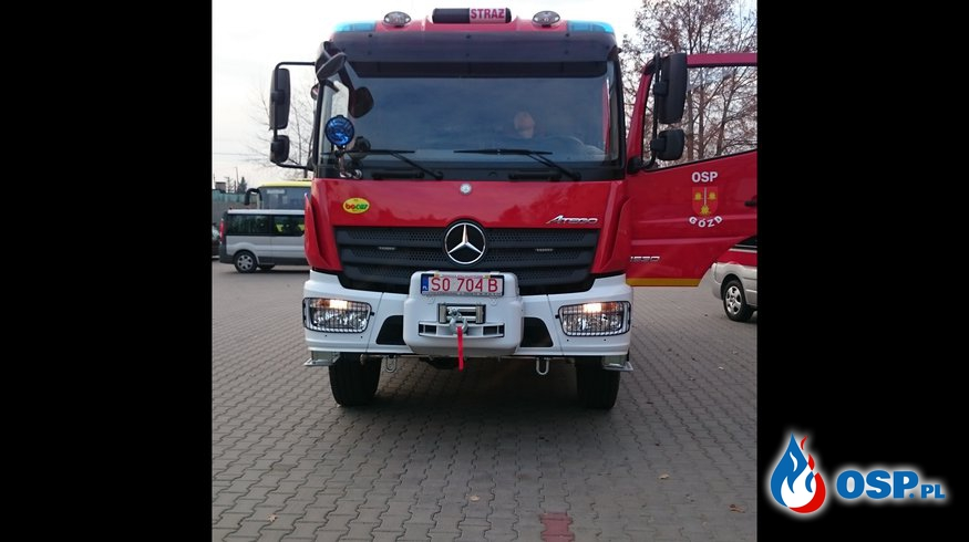 Nowy samochód ratowniczo -gaśniczych OSP Ochotnicza Straż Pożarna